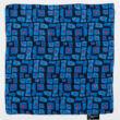 Autistic Art Cubes hernyóselyem díszzsebkendő 30x30 cm
