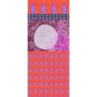 Autistic Art Huts hernyóselyem sál 140x60 cm