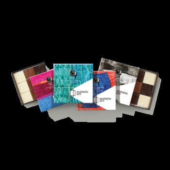 Kockacsoki Single chocolate box 9 pcs
