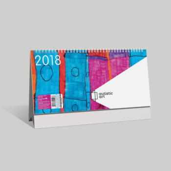 Lizzy Card asztali képes naptár 153x320 mm