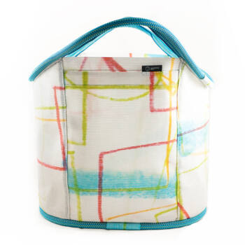 Shopping bag kék-fehér