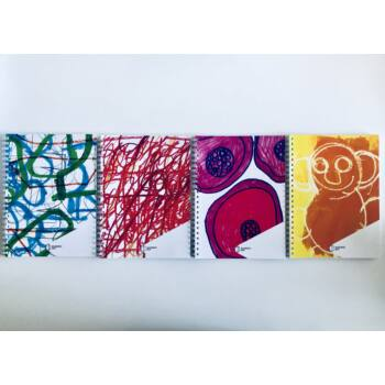 Autistic Art spirál füzet csomag