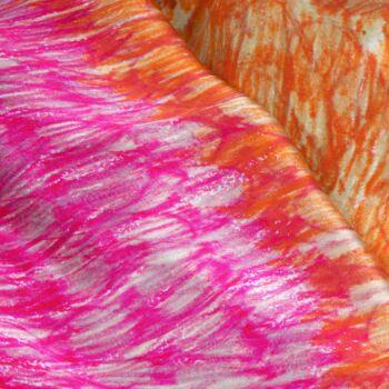 Autistic Art Summer hernyóselyem sál 140x60 cm