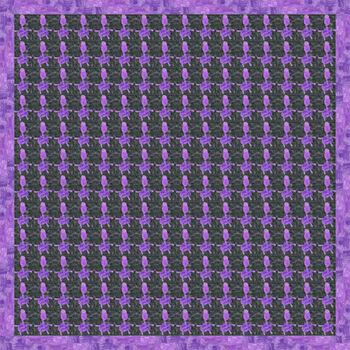 Autistic Art Huts hernyóselyem díszzsebkendő 30x30 cm