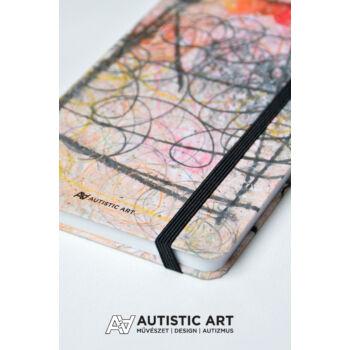 Autistic Art Balloon exkluzív notesz 13x20 cm