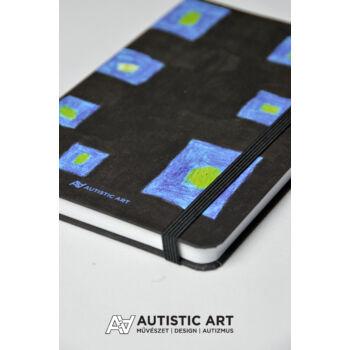 Autistic Art Cubes exkluzív notesz 13x20 cm