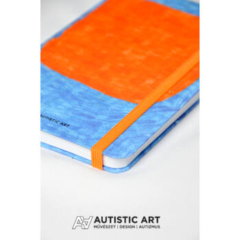Autistic Art Field exkluzív notesz 13x20 cm