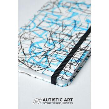 Autistic Art Lines exkluzív notesz 13x20 cm