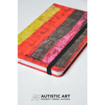 Autistic Art Zone exkluzív notesz 13x20 cm