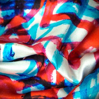 Autistic Art Loops hernyóselyem sál 140x60 cm