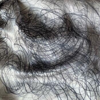 Autistic Art Silver hernyóselyem sál 70x70 cm