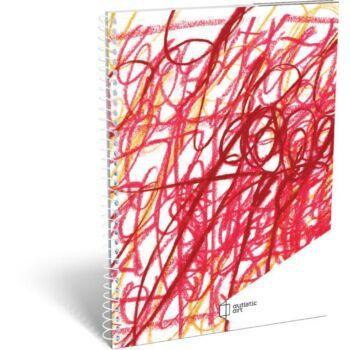 Autistic Art spirál füzet