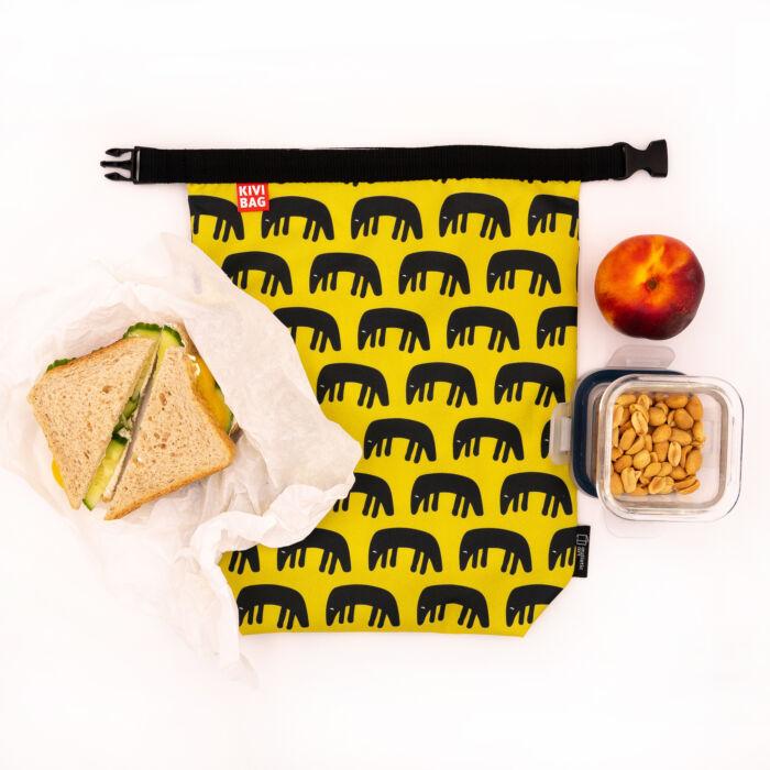 Lunch bag flower